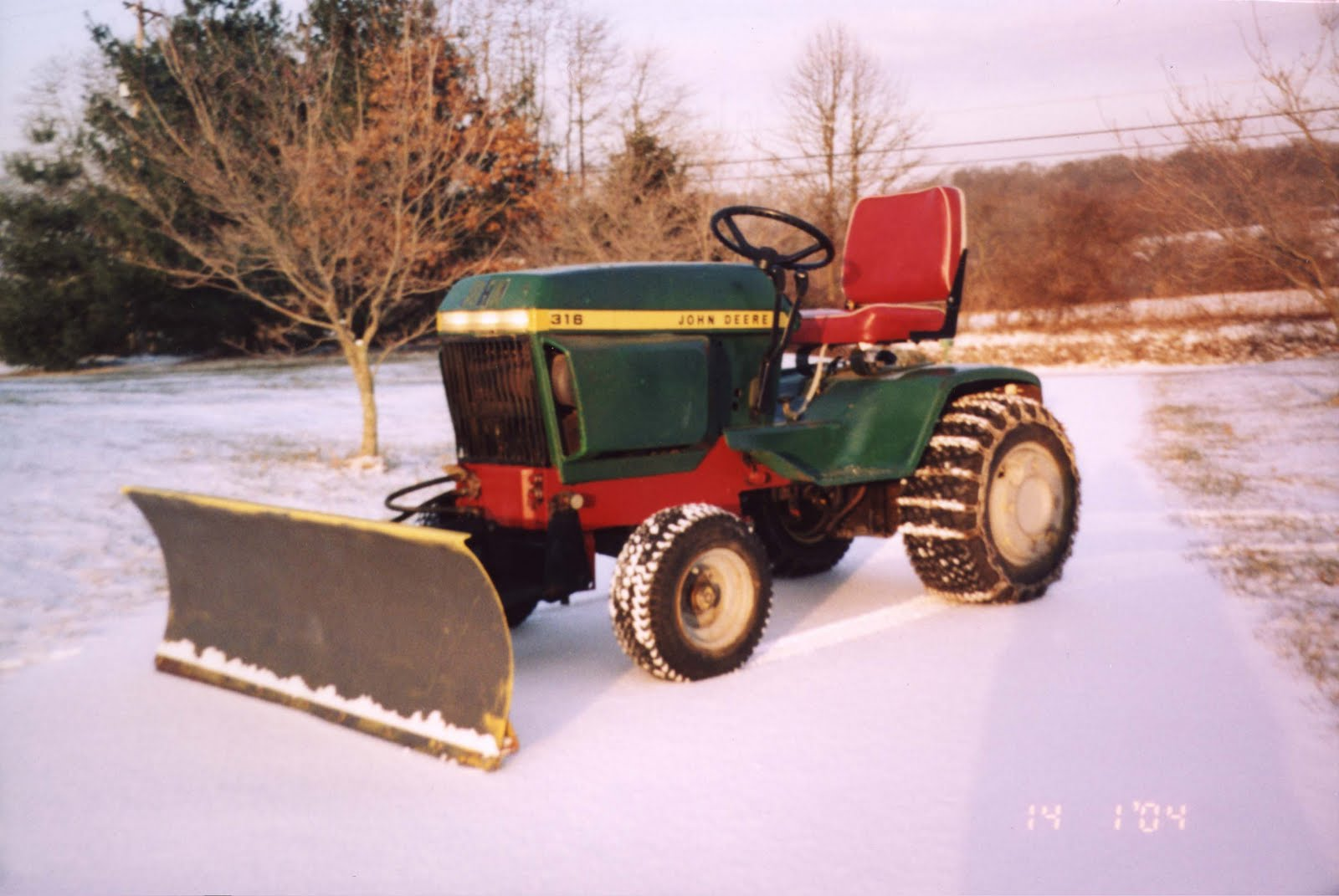 Robert's Projects: John Deere 300 Tractor - Mule Hitch
