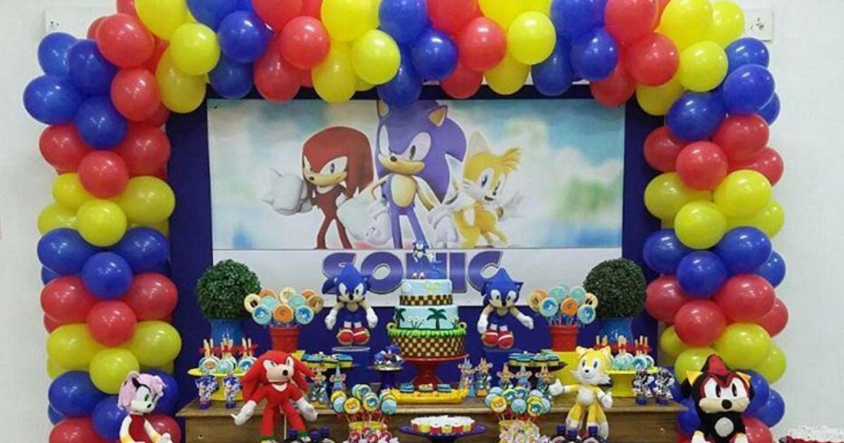 101 fiestas fiesta tem tica de sonic for Paginas de ideas de decoracion