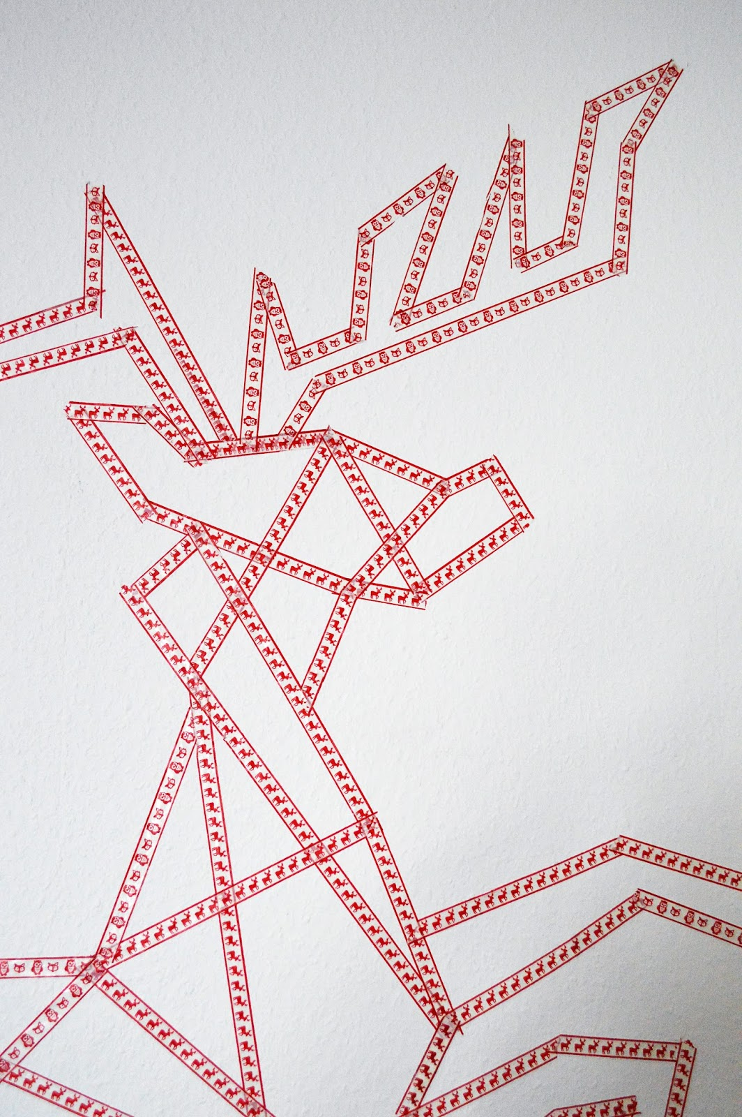 DIY Wash Tape Wall Decal | Motte's Blog