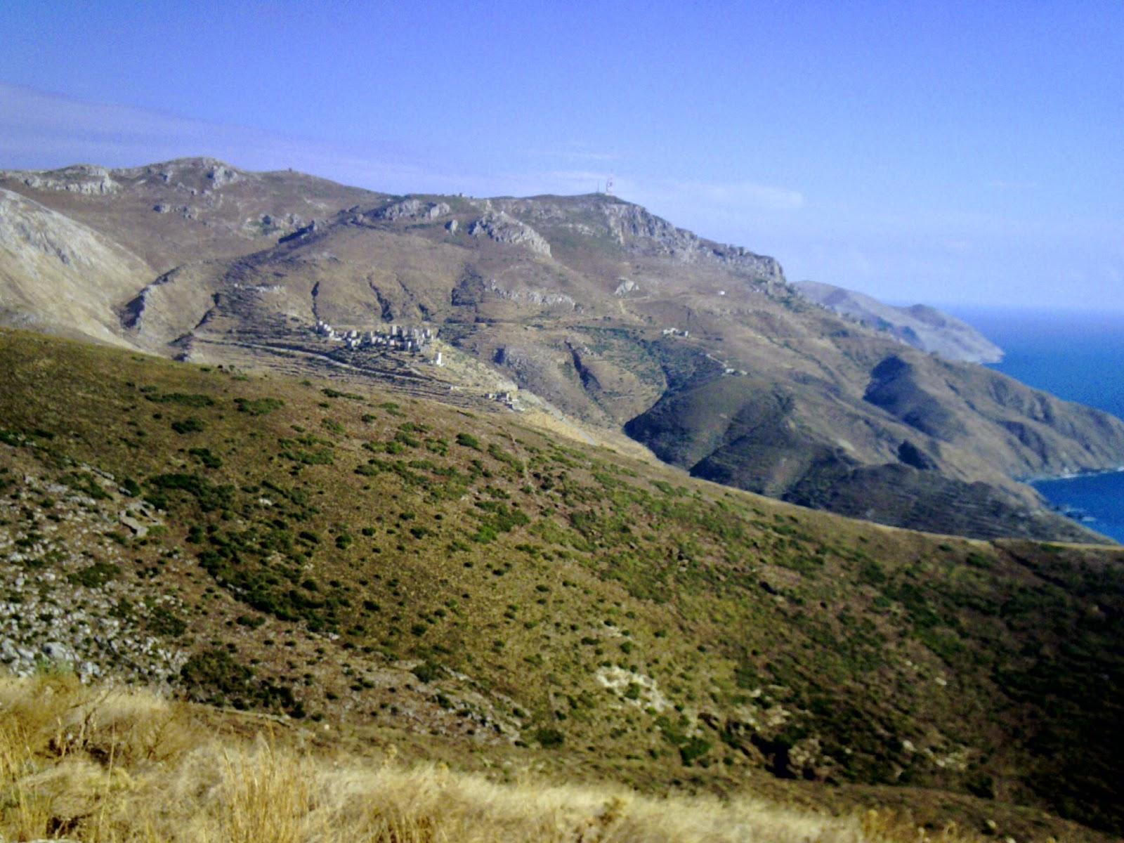 Península de Mani, Peloponès, Grècia, Vathia