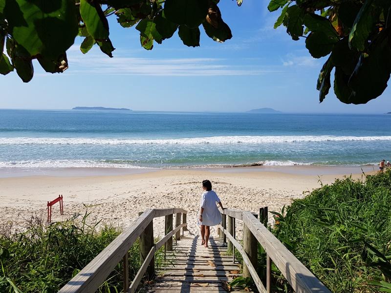 Praia de Quatro Ilhas - Bombinhas