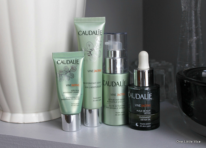 onelittlevice beauty blog: caudalie vineactiv skincare review