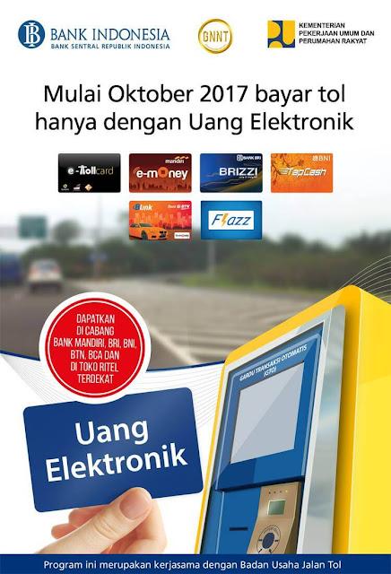 uang elektronik, e-money, e money mandiri, mandiri, bca flazz, flazz, bni tapcash, bni, brizzi, tapcash