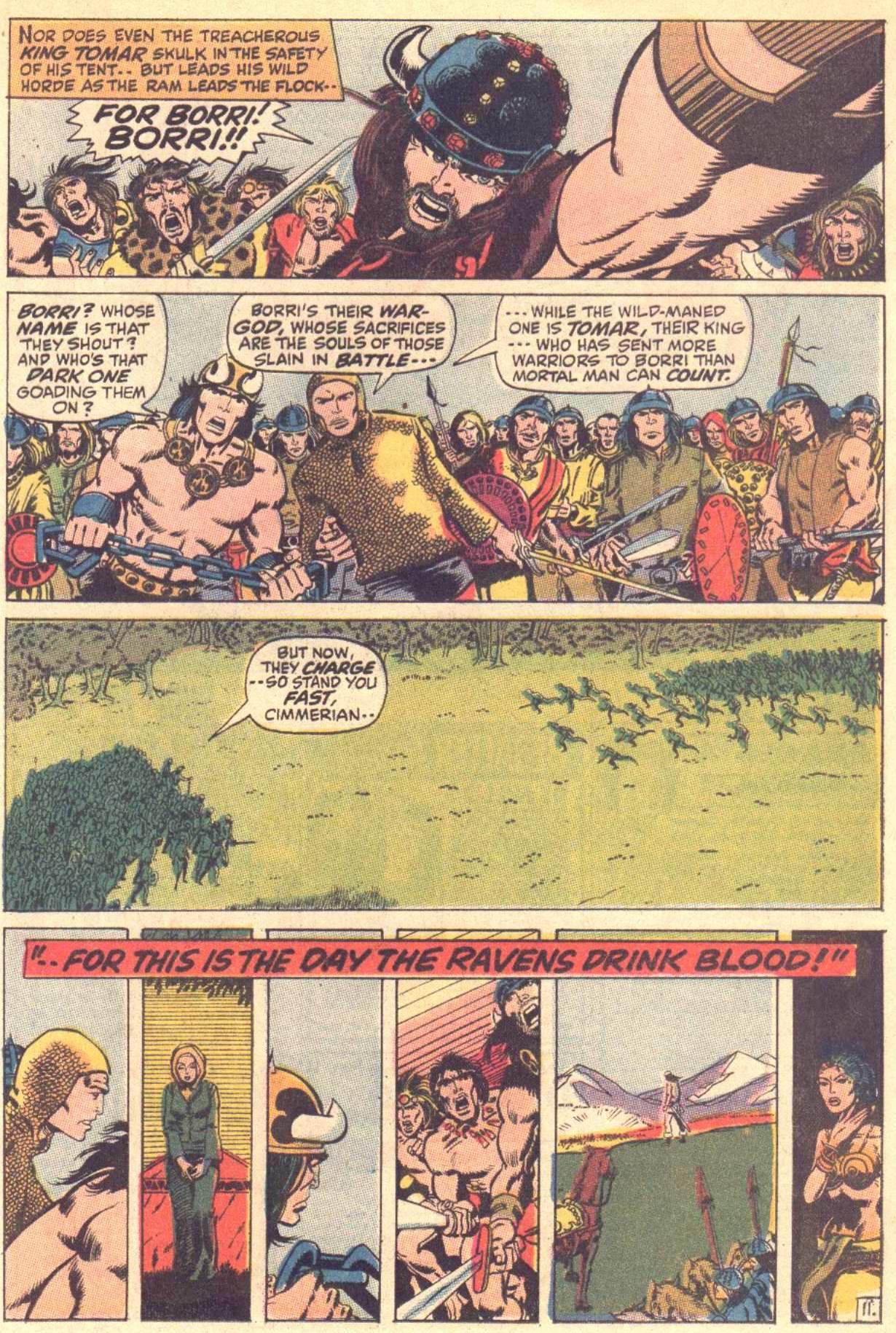 Conan the Barbarian (1970) Issue #3 #15 - English 12