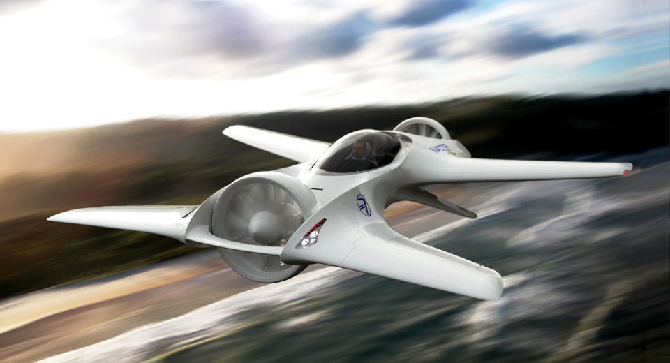 The latest flying auto borrows DeLorean's legendary namesake