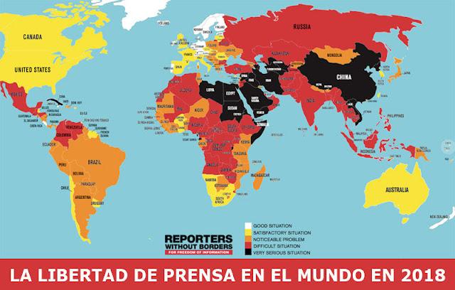 Armenia cae en índice de libertad de libertad de prensa 2018