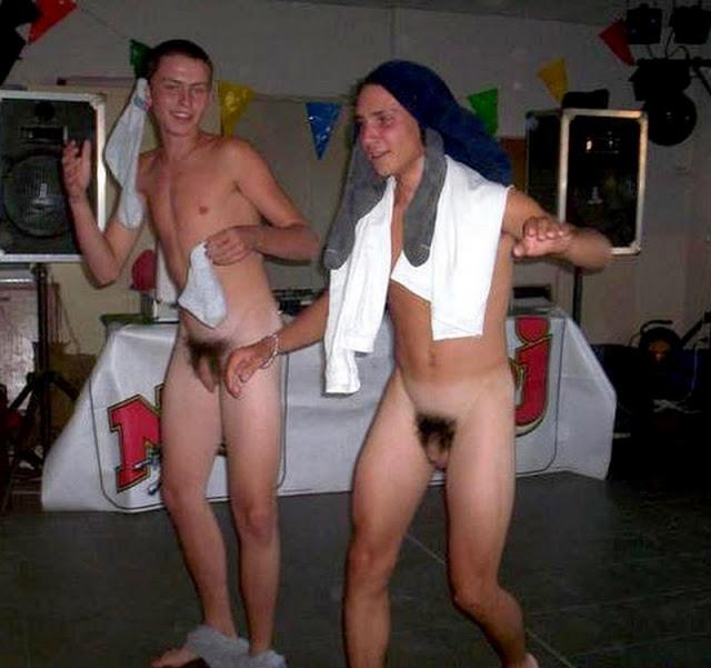 Sexy gay roomates having bareback anal fuck 7