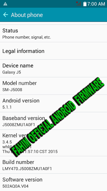 Samsung J5 Flash File