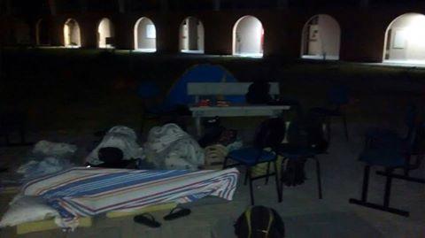 Alunos da Ufal - Campus Sertão ocuparam a Universidade como forma de protesto para reivindicar a falta de assistência estudantil
