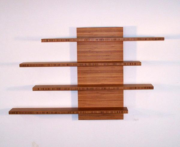 Solid Wood Floating Wall Shelves 14 Image Wall Shelves