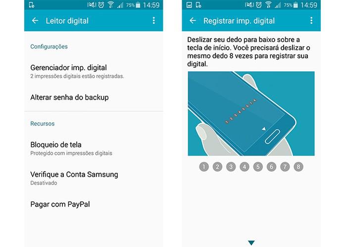 Trave seu smartphone Galaxy da Samsung