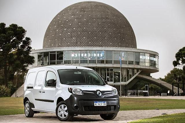 Renault Kangoo Z.E.: El primer vehículo eléctrico vendido en Argentina #empezamosdezero