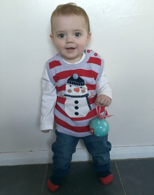 My 7 Top Tips For Baby's First Christmas, George at Asda,