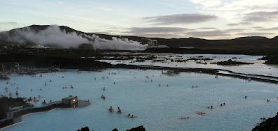 Blue Lagoon geothermal spa outside Reykjavik, Iceland