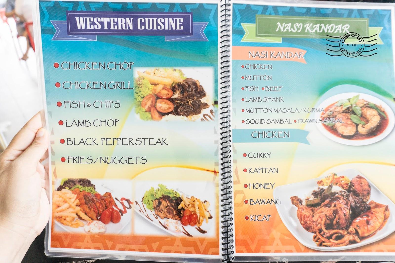 Indian Muslim food in Penang Syed Bistro