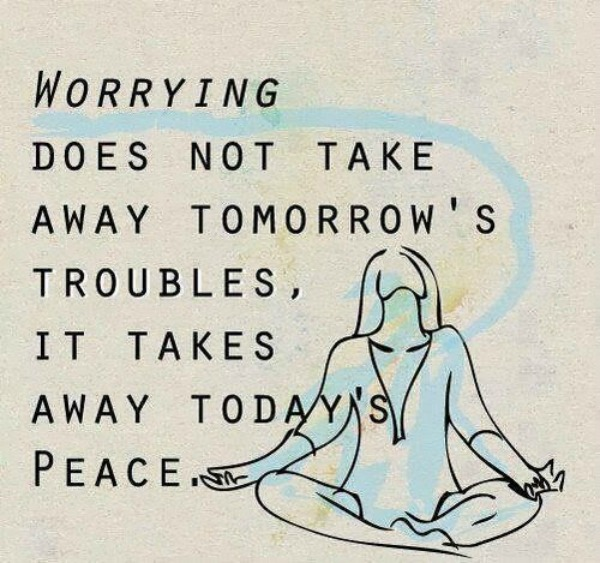 worry worrying troubles