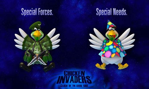 Chicken Invaders 5: Cluck Of The Dark Side Download for PC