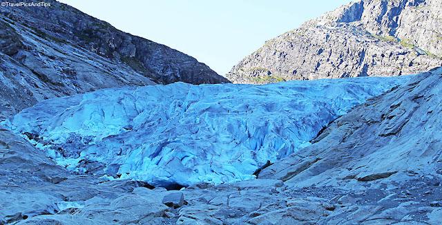 Glacier Nigardsbreen, Jostedal, Norvège du sud