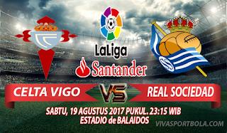 Prediksi Celta Vigo vs Real Sociedad 19 Agustus 2017