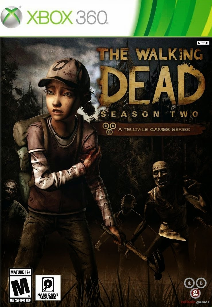 The Walking Dead Season 2 XBOX 360 Cover Caratula