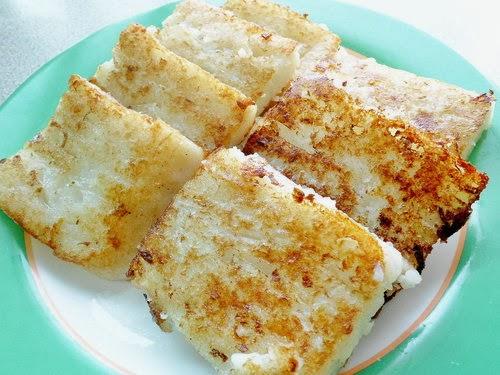 Daikon Cake Turnip Cake Vegetarian Soluheal