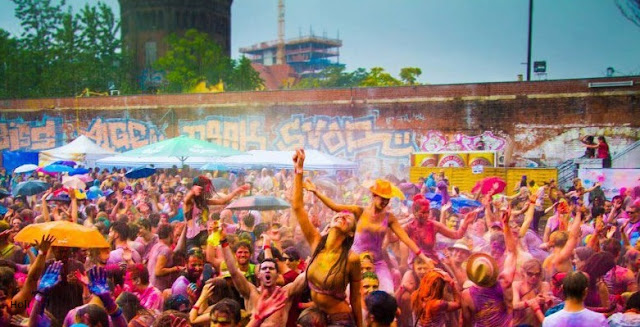 Holi Festival Wallpaper In English
