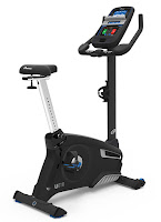 Nautilus MY18 U616 Upright Exercise Bike, review features compared with U618