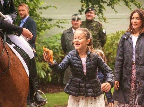 Crown Prince Frederik, Crown Princess Mary, Prince Vincent, Princess Josephine, Prince Christian and Princess Isabella