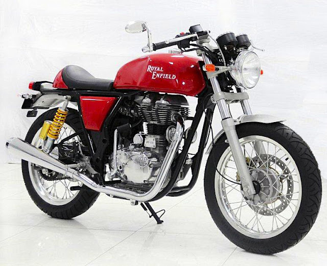 Royal Enfield cafe racer - Subcompact Culture