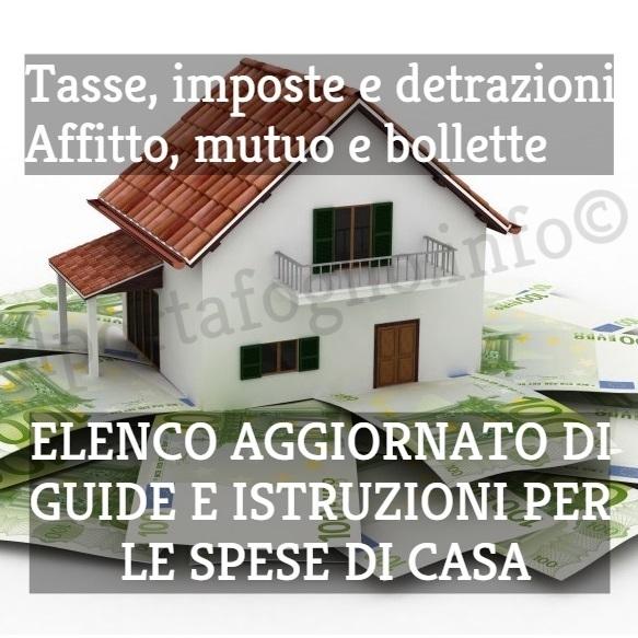Guide Aggiornate Su Tasse Sulla Casa, Detrazioni E Incentivi Fiscali,  Affitto, Mutuo, Incentivi Fiscali Ristrutturazione ...