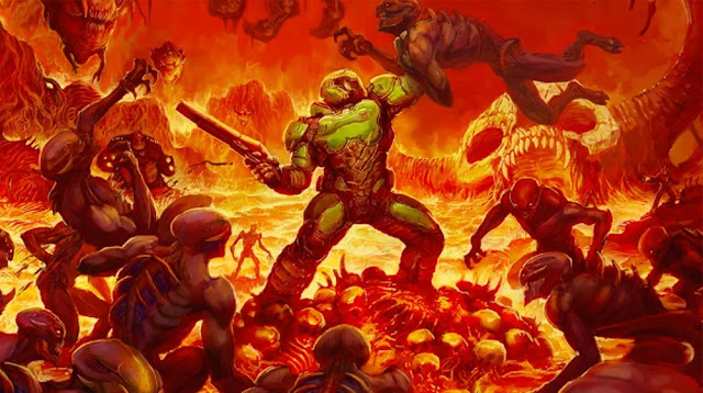 doom game cover art