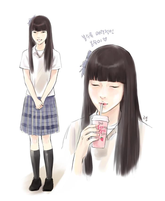 ✓ Terbaik Gambar Animasi Remaja Putri