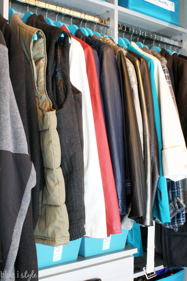 Organizing With Style Organized Coat Closet Makeover