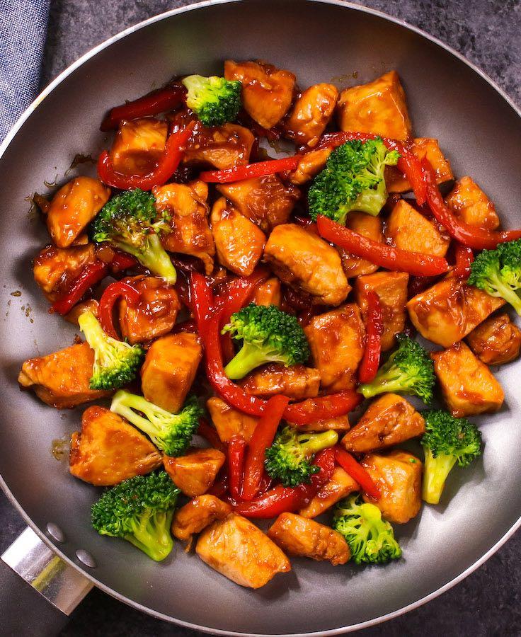 Easy Honey Garlic Chicken Recipe