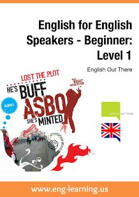 كتاب اللغة الإنجليزية للمتحدثين - المستوى 1 ( مبتدئ )
