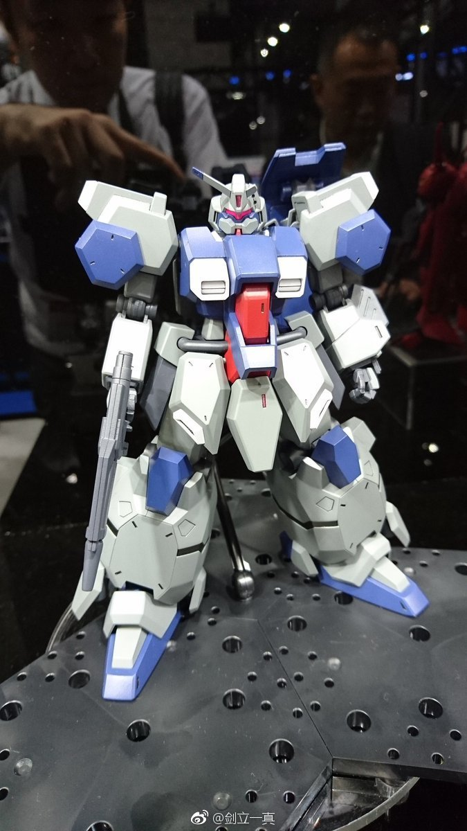 We're three times as fast in the 3rd [Gunpla] & Plastic