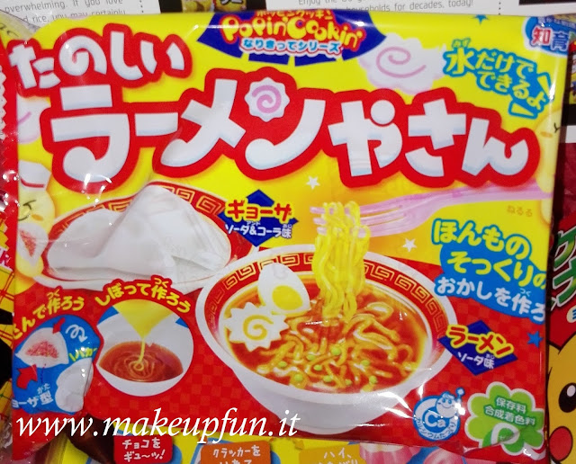 sweet candies like ramen