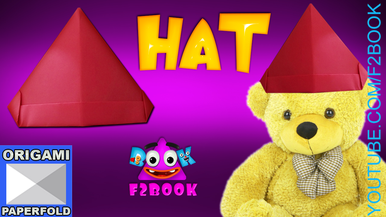 F2book Christmas Hat Simple For Children How To Make A Paper Hat Video 57