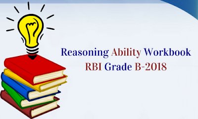 Reasoning Workbook for RBI Grade B-2018