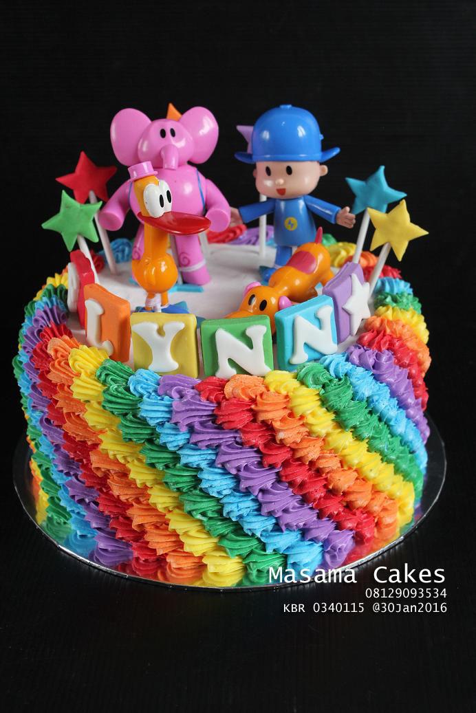 Masama Cakes Pocoyo Birthday Cake For Flynn