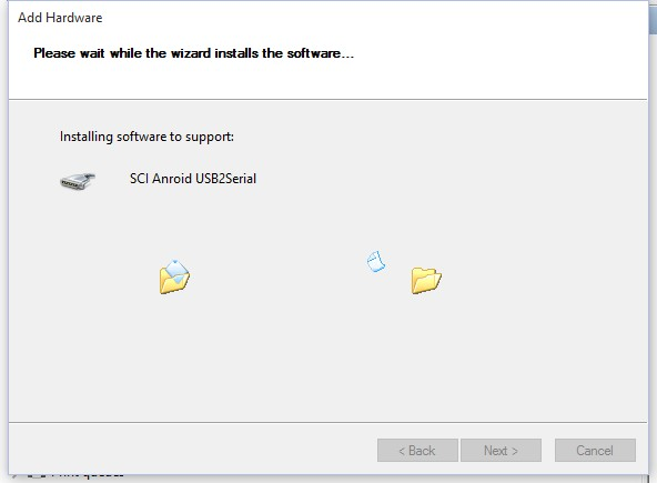 How to install spd usb drivers