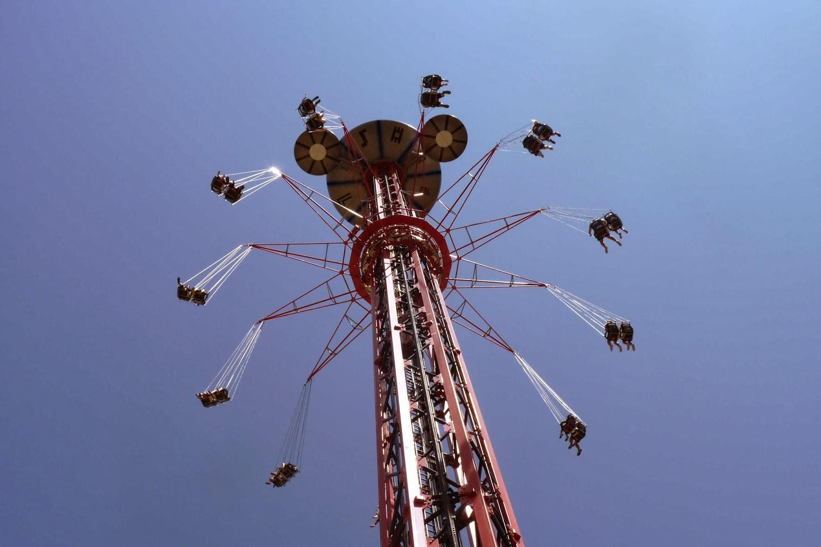 Star Flyrer. Parque de Atracciones de Madrid.