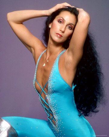 Foto de Cher en sesión de foto