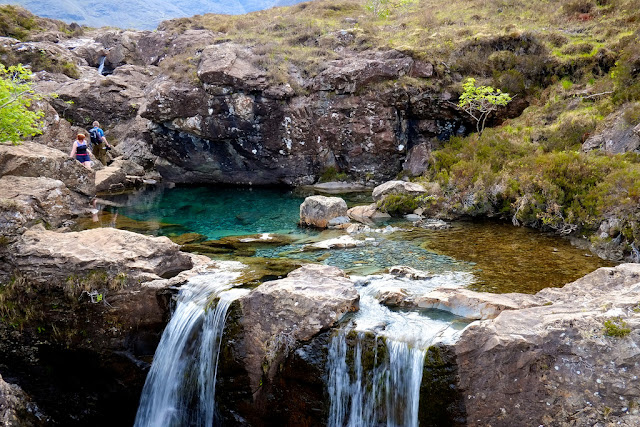 The Fairy Pools, island of Skye, Scotland