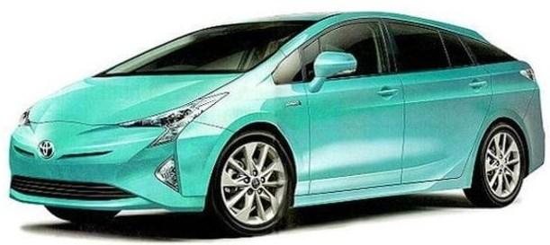 2017 Toyota Prius V Redesign