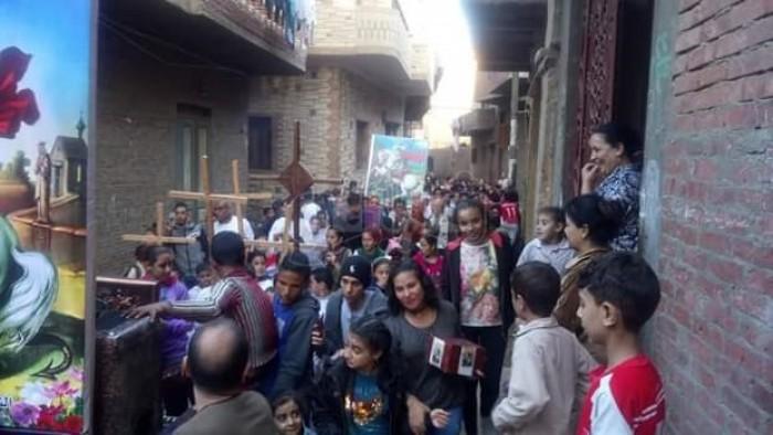 باط المنيا يحتفلون بعيد أمير الشهداء