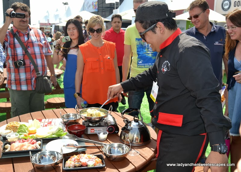 Shabu Shabu at the Dubai Food Carnival