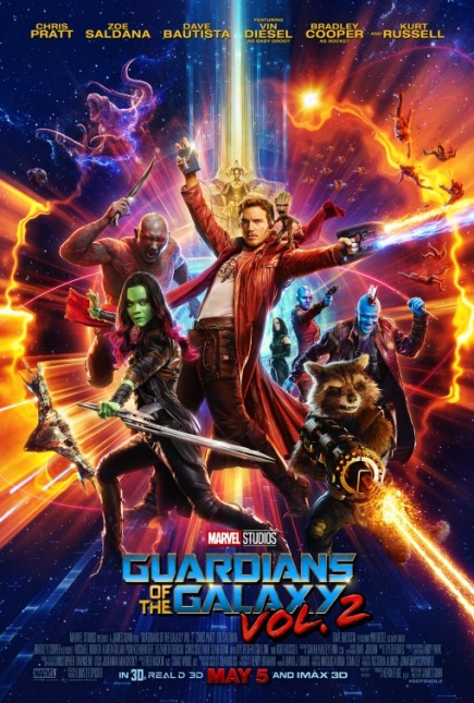 GUARDIANS OF THE GALAXY VOL. 2 (2017) movie review by Glen Tripollo
