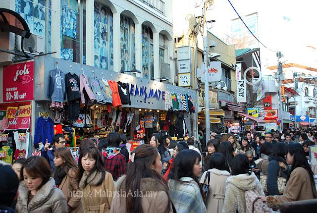 Photo of Takeshita Street