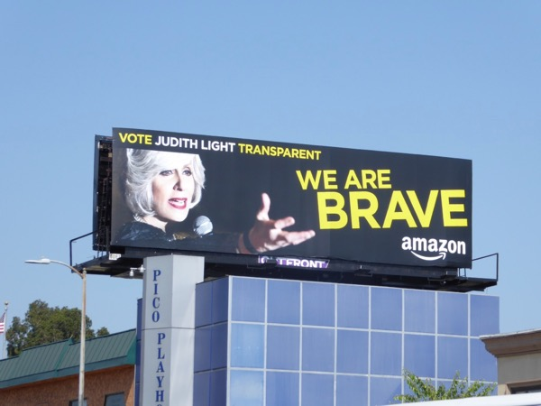 Judith Light Transparent Emmy billboard